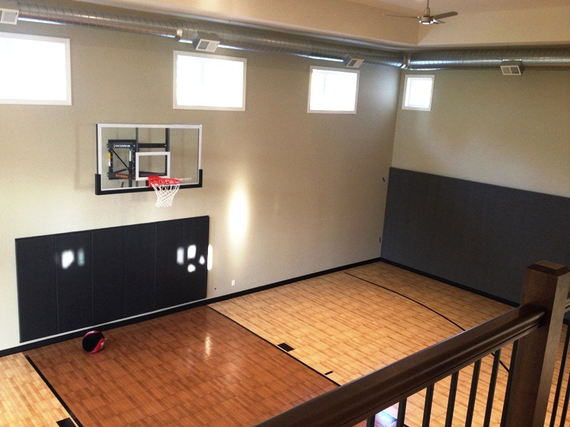 Basketball Court Classic Custom Homes Madison Wi